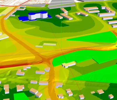 Projektierung von Verkehrsanlagen und Freizeitanlagen